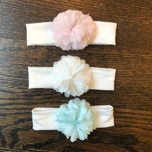 Trio of Infant Headbands